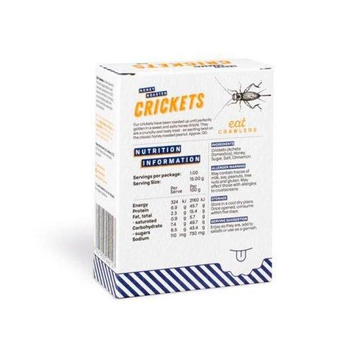 Grillos asados con miel Eat Crawlers caja