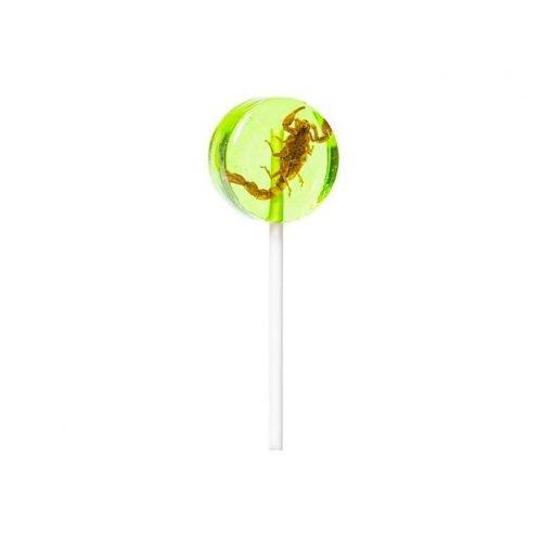 Lollipop de escorpion y manzana Eat Crawlers