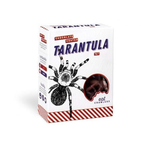Tarantulas recubiertos de chocolate Eat Crawlers