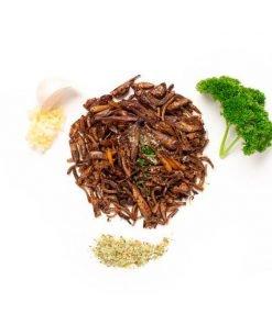 Variado de insectos ajo y finas hierbas Eat Crawlers producto